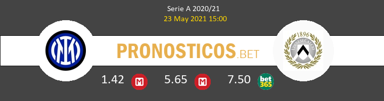 Inter vs Udinese Pronostico (23 May 2021) 1