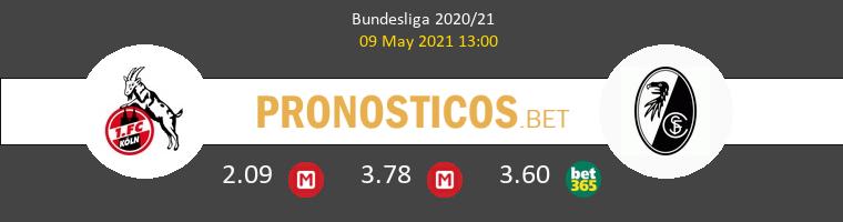 Koln vs SC Freiburg Pronostico (9 May 2021) 1