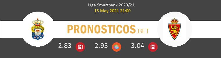 Las Palmas vs Zaragoza Pronostico (15 May 2021) 1