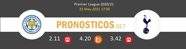 Leicester vs Tottenham Hotspur Pronostico (23 May 2021) 1
