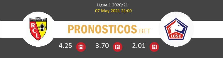 Lens vs Lille Pronostico (7 May 2021) 1