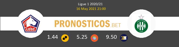 Lille vs SaintvÉtienne Pronostico (16 May 2021) 1
