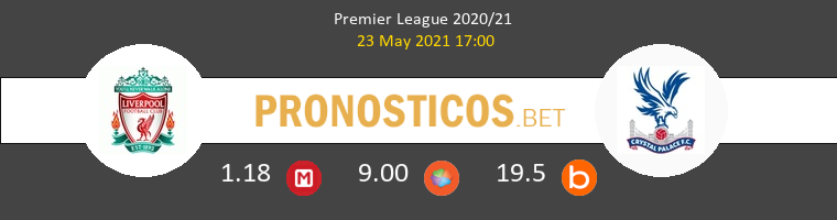 Liverpool vs Crystal Palace Pronostico (23 May 2021) 1
