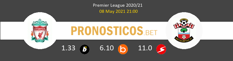 Liverpool vs Southampton Pronostico (8 May 2021) 1