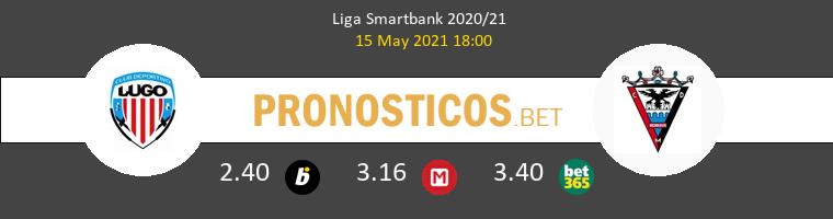 Lugo vs Mirandés Pronostico (15 May 2021) 1