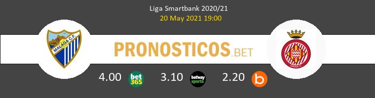 Málaga vs Girona Pronostico (20 May 2021) 1