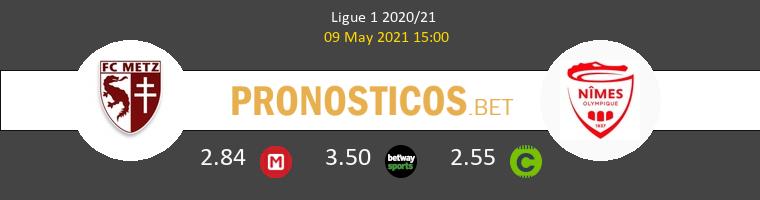 Metz vs Nimes Pronostico (9 May 2021) 1