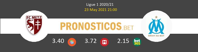 Metz vs Marsella Pronostico (23 May 2021) 1