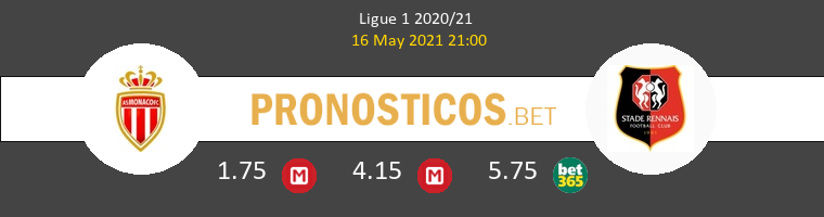 Monaco vs Stade Rennais Pronostico (16 May 2021) 1