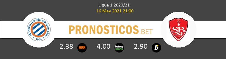 Montpellier vs Stade Brestois Pronostico (16 May 2021) 1