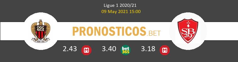 Nice vs Stade Brestois Pronostico (9 May 2021) 1