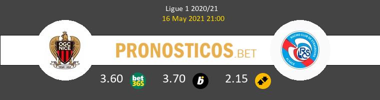 Nice vs Estrasburgo Pronostico (16 May 2021) 1
