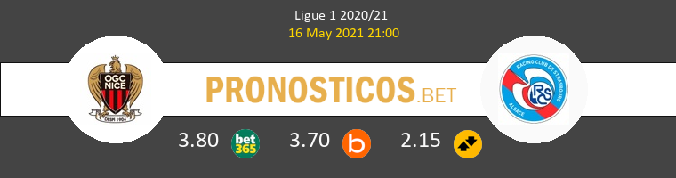 Niza vs Strasbourg Pronostico (16 May 2021) 1