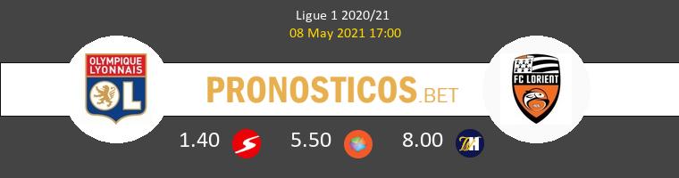 Lyon vs Lorient Pronostico (8 May 2021) 1