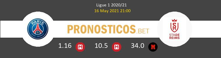Paris Saint Germain vs Stade de Reims Pronostico (16 May 2021) 1