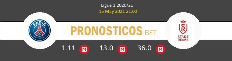 Paris Saint Germain vs Reims Pronostico (16 May 2021) 1