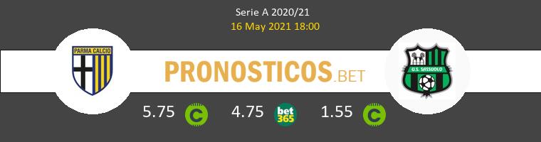 Parma vs Sassuolo Pronostico (16 May 2021) 1