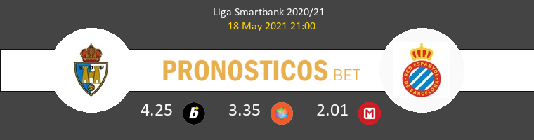 Ponferradina vs Espanyol Pronostico (18 May 2021) 1