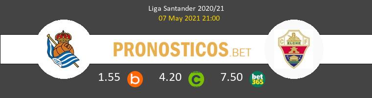 Real Sociedad vs Elche Pronostico (7 May 2021) 1