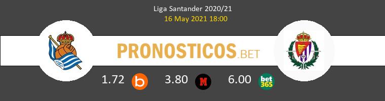 Real Sociedad vs Real Valladolid Pronostico (16 May 2021) 1
