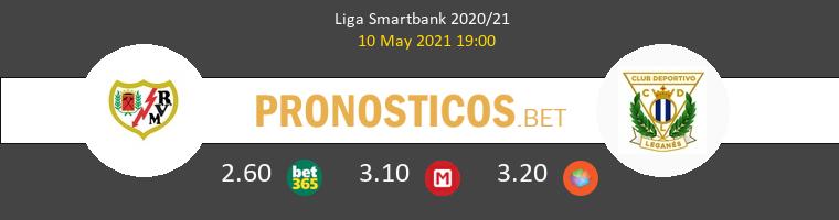 Rayo Vallecano vs Leganés Pronostico (10 May 2021) 1