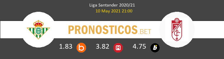 Real Betis vs Granada Pronostico (10 May 2021) 1