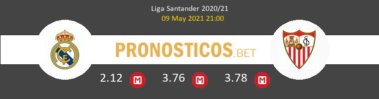 Real Madrid vs Sevilla Pronostico (9 May 2021) 1