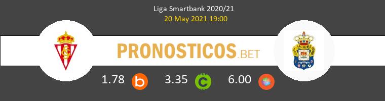 Real Sporting vs Las Palmas Pronostico (20 May 2021) 1