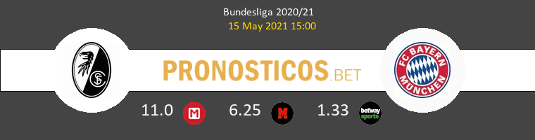 SC Freiburg vs Bayern Pronostico (15 May 2021) 1