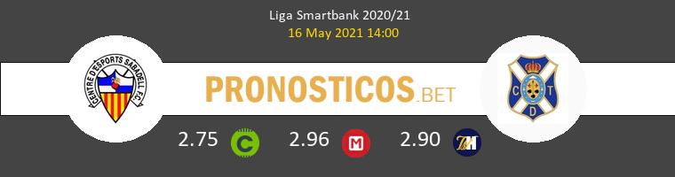 Sabadell vs Tenerife Pronostico (16 May 2021) 1