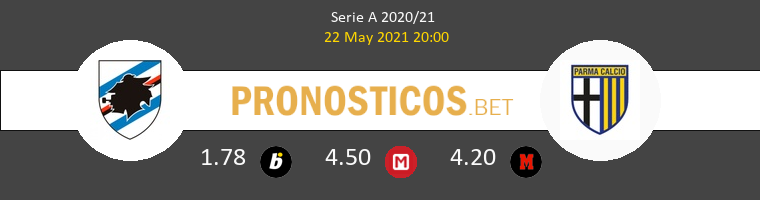 Sampdoria vs Parma Pronostico (22 May 2021) 1