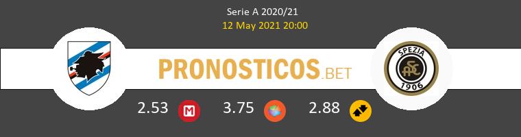 Sampdoria vs Spezia Pronostico (12 May 2021) 1