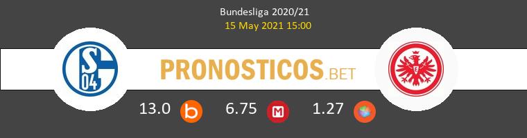Schalke 04 vs Eintracht Frankfurt Pronostico (15 May 2021) 1