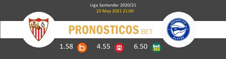 Sevilla vs Alavés Pronostico (23 May 2021) 1