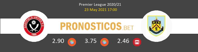 Sheffield United vs Burnley Pronostico (23 May 2021) 1