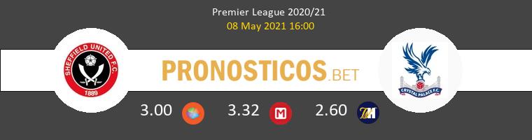 Sheffield vs Crystal Palace Pronostico (8 May 2021) 1