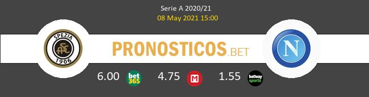 Spezia vs Nápoles Pronostico (8 May 2021) 1