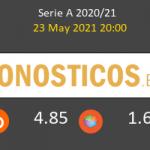 Spezia vs Roma Pronostico (23 May 2021) 2
