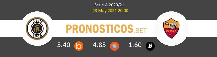 Spezia vs Roma Pronostico (23 May 2021) 1