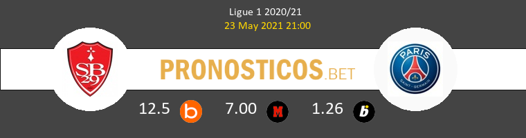 Stade Brestois vs PSG Pronostico (23 May 2021) 1