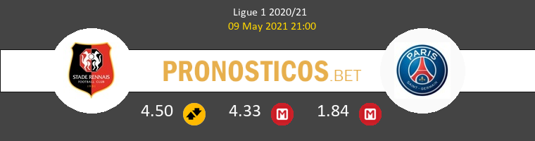 Stade Rennais vs PSG Pronostico (9 May 2021) 1