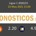 Estrasburgo vs Lorient Pronostico (23 May 2021) 7