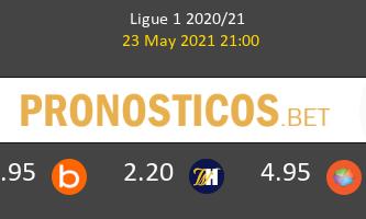 Estrasburgo vs Lorient Pronostico (23 May 2021) 1
