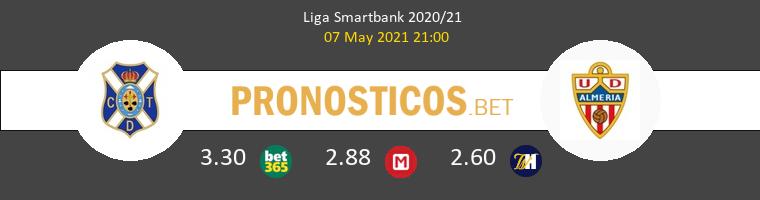 Tenerife vs Almería Pronostico (7 May 2021) 1