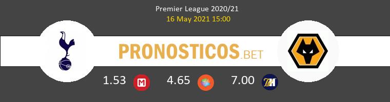 Tottenham Hotspur vs Wolves Pronostico (16 May 2021) 1