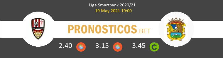 UD Logroñés vs Fuenlabrada Pronostico (19 May 2021) 1