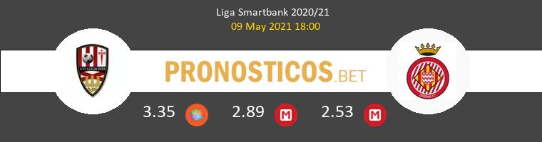UD Logroñés vs Girona Pronostico (9 May 2021) 1