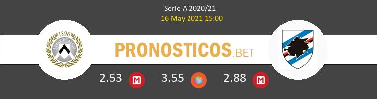 Udinese vs Sampdoria Pronostico (16 May 2021) 1