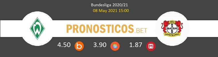 Werder Bremen vs Leverkusen Pronostico (8 May 2021) 1