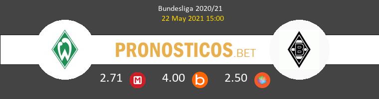 Werder Bremen vs B. Mönchengladbach Pronostico (22 May 2021) 1